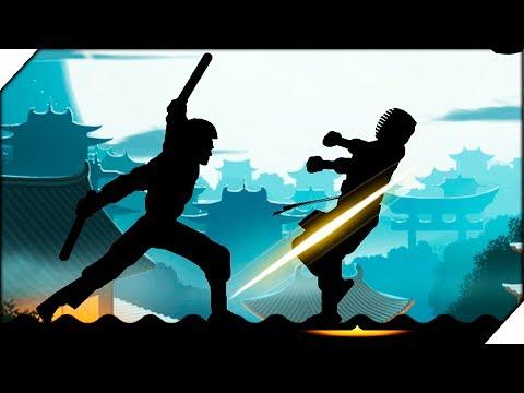ЗАВАЛИЛ КИРПИЧА - Shadow Fight 2 #2 ШАДОУ ФАЙТ БОЙ С ТЕНЬЮ.ИГРА как мультик про ниндзя