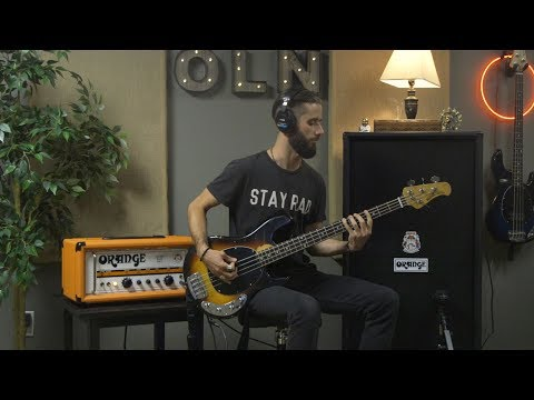 Our Last Night - Broken Lives  BASS PLAYTHROUGH (Orange AD 2