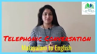 Telephonic Conversation (A to Z - Be the Best / Divya Jipson)
