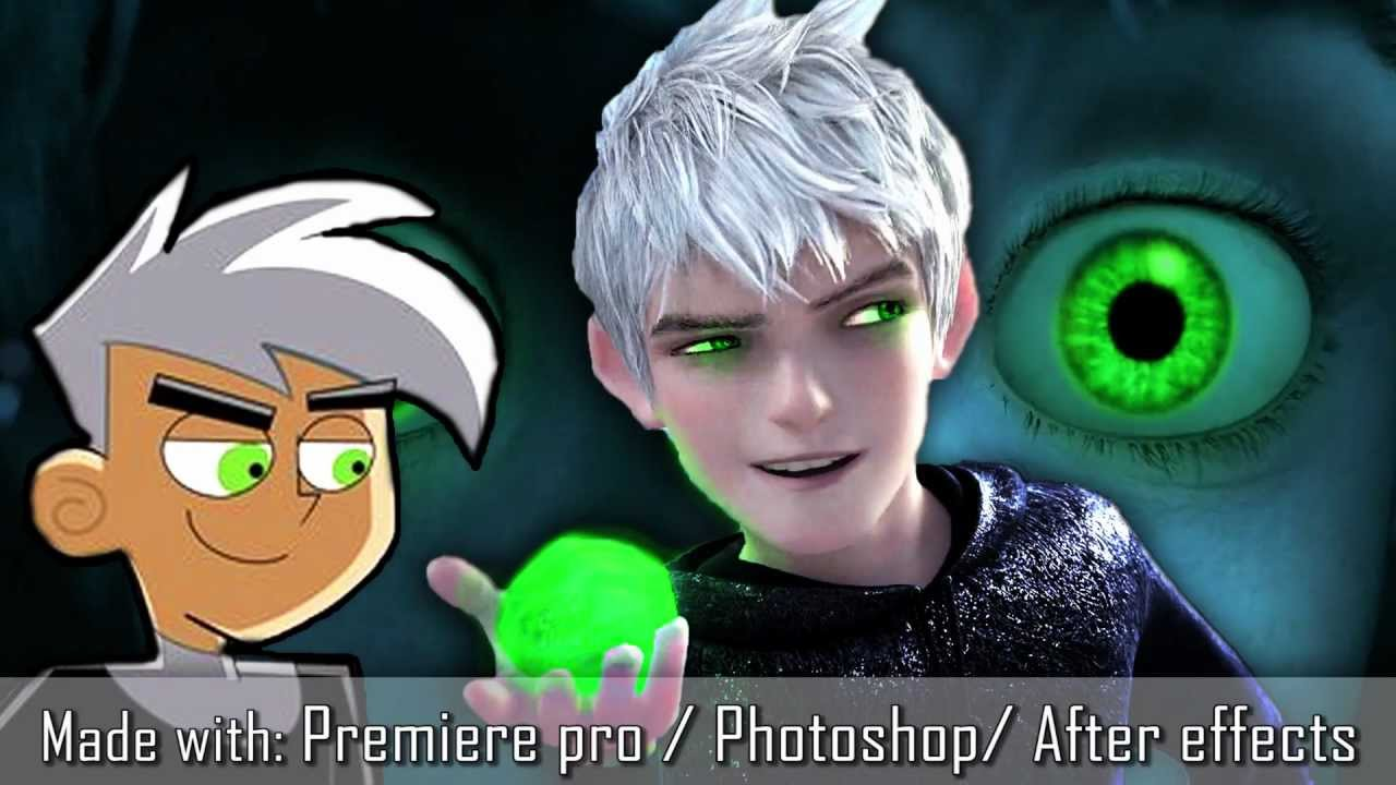Jack Frost as Danny Phantom [opening scene] - YouTube