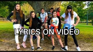 Haschak Sisters-Look What You Made Me Do  (LYRICS ON VIDEO)