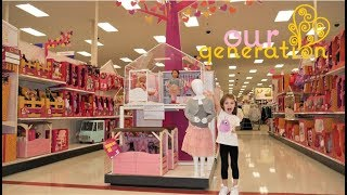 Our Generation HUGE store NEW for Holiday, NEW dolls, outfits and displays!