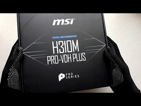 Материнська плата MSI H310M PRO-VDH PLUS (s1151, Intel H310, PCI-Ex16)