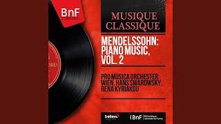 6 Preludes and Fugues, Op. 35, Prelude and Fugue No. 2 in D Major: Fugue, MWV U105