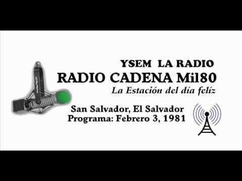 Radio Mil80 Programa Parte 1 - El Salvador