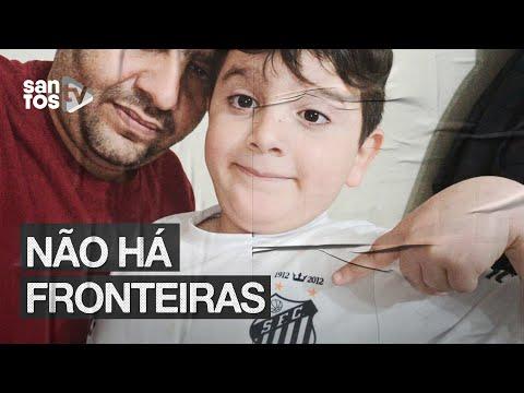 AMOR SEM FRONTEIRAS: CONHEÇA O MENINO DA SÍRIA QUE AMA O SANTOS!