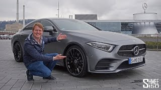 Check Out the New 2018 Mercedes CLS! | FIRST LOOK