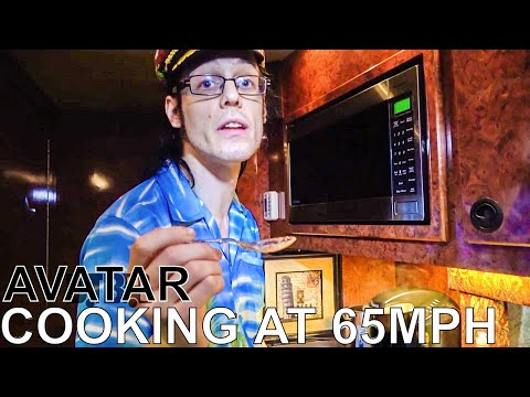 Avatar Makes Gnocchi With Vegetarian Meatballs - COOKING AT 65MPH Ep. 29