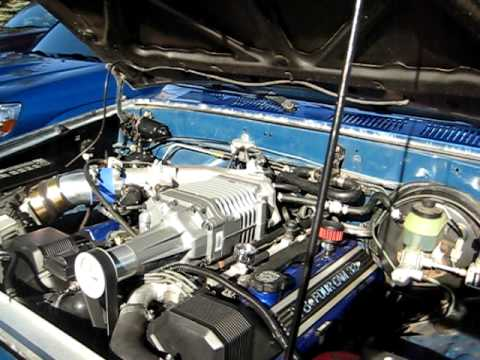 1uz Toyota Pickup With M90 Supercharger Youtube