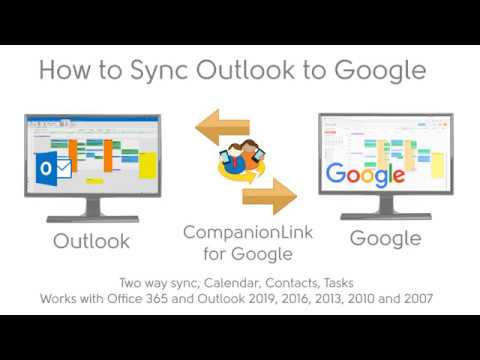 Sync Outlook Calendar With Google Calendar ⇄ Two-Way Automatic Sync