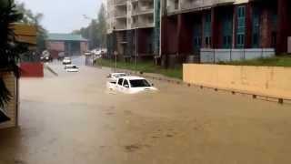 Сочи снова затопило 11.11.2015 Ливень / Дождь / Потоп и т.д.