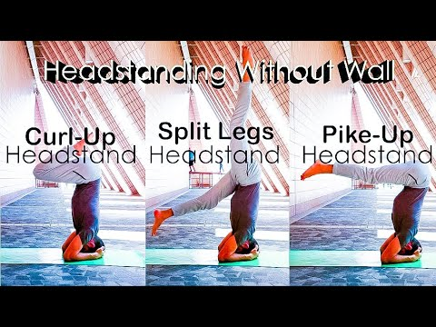 headstand  headstand variations for beginners  youtube