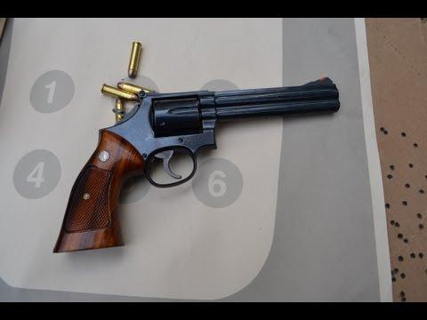 The S&W 586 in 357 Magnum