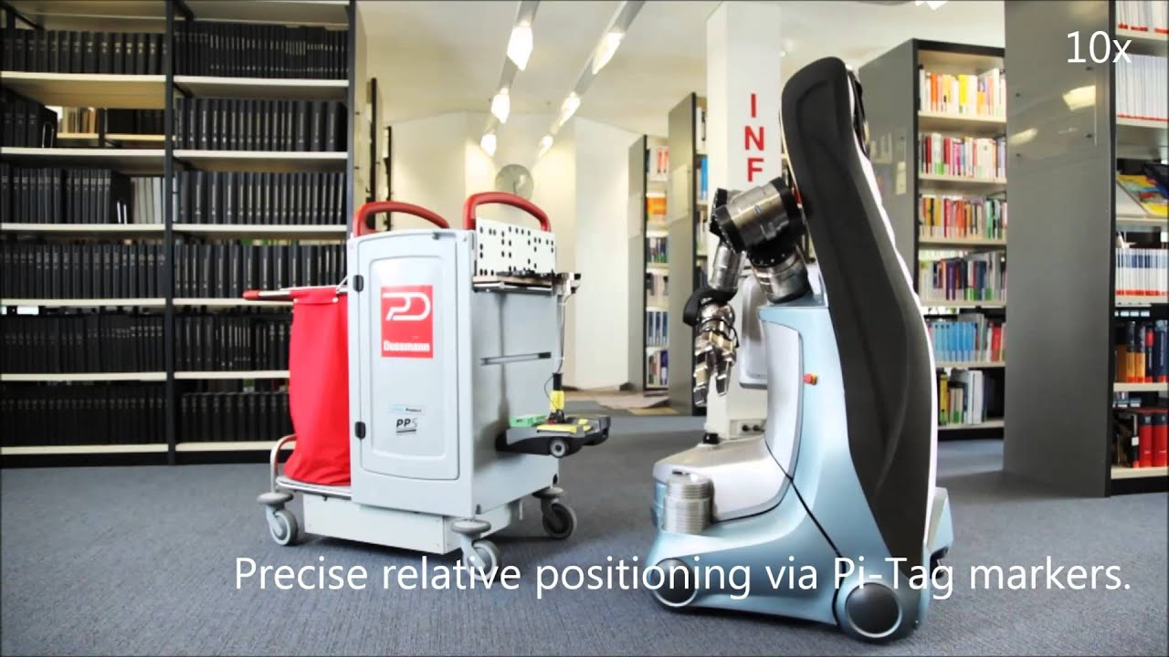Robot assisted Cleaning in Office Buildings