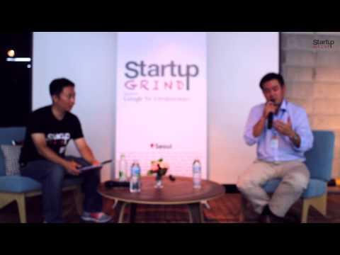 John Hanjoo Lee (SparkLabs) at Startup Grind Seoul