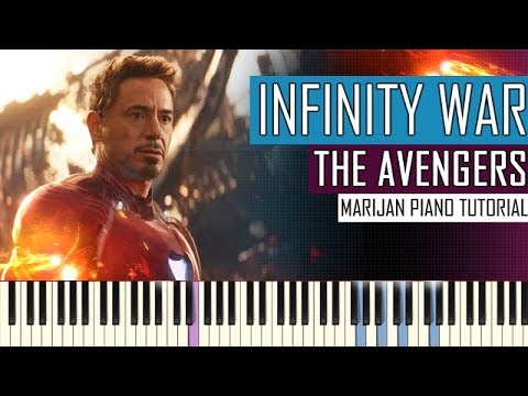 How To Play: Marvel's Avengers - Infinity War - Official Trailer Music | Piano Tutorial + Sheets