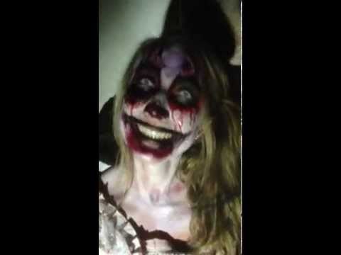 you have to smile in scarehouse youtube