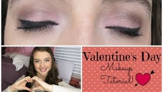 Valentine's Day Makeup Tutorial || Soft Pink ♥ Thumbnail