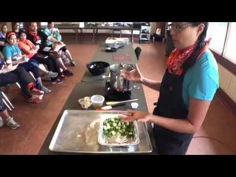 Viva Las Veggies Cooking Class (Periscope Video from Camp Nerd Fitness)