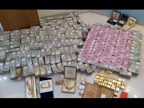 Rs. 5.7 Crore New Notes, 32 Kg Of Gold Found In Hawala Dealer's Bathroom Safe
