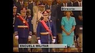 General Ricardo Izurieta Caffarena asume mando del Ejercito de Chile.