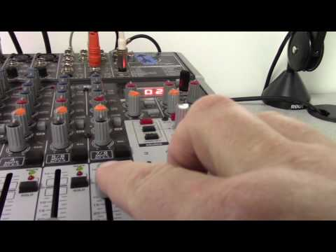 Recording from the Mixer to your MacBook