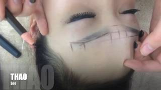 Hướng dẫn vẽ lông mày CÂN ĐỐI mà SIÊU NHANH - CỰC DỄ [ Touch in eyebrows - tutorial ]