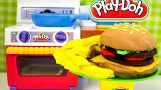 How To Make A Playdoh Burger By Unboxingsurpriseegg