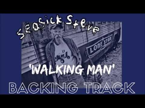 Seasick Steve - 'Walking Man' [Backing Track]