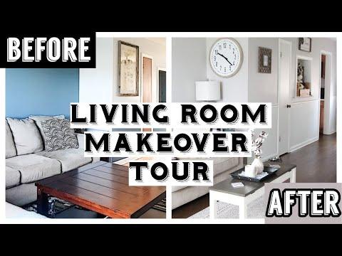 LIVING ROOM MAKEOVER/TOUR