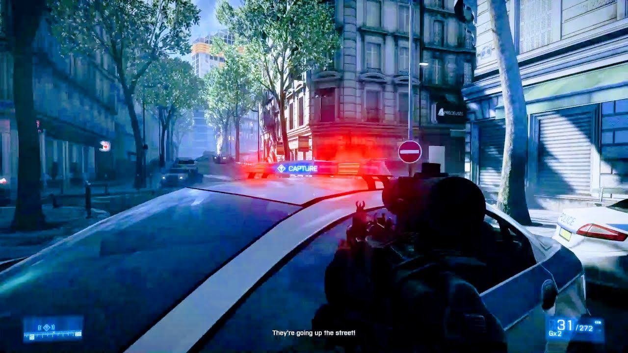BATTLEFIELD 3 -GAMEPLAY MISSION 6 - INSANE GRAPHICS !!! 1080p -  [XBOX/PS3/PC]