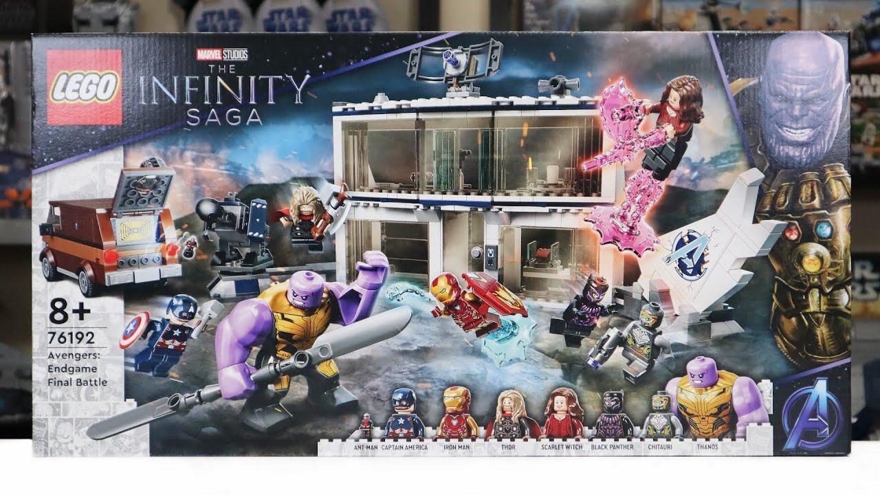 Download LEGO Infinity Saga 76192 AVENGERS: ENDGAME FINAL BATTLE Review! (2021)