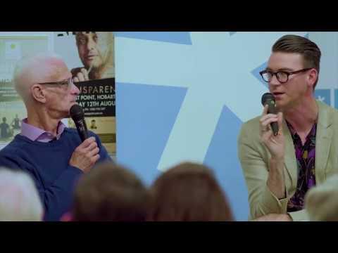 Robert Dessaix In Conversation With Adam Ouston At Fullers Bookshop, Hobart 20 07 2017 1