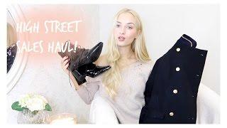 High Street Sales Haul! / Zara. H&M. Uterqüe