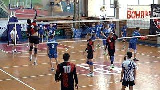 Волейбол Студенческая лига России Нападающий удар 2
