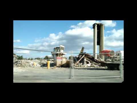 White Flint Mall Demolition - Montgomery County - December 2015