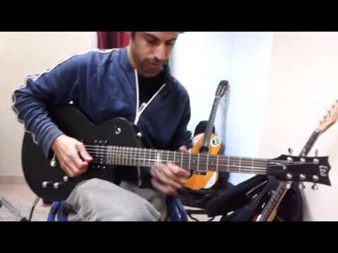 Esp LTD EC-100qm Guitar Test