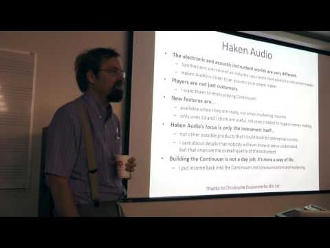ContinuuCon 2017 - Spreading the Word - Lippold Haken