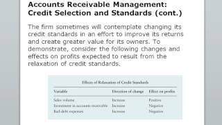 Working Capital & Asset Management Part 2