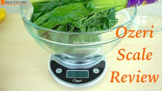 Ozeri Pronto Digital Multifunction Kitchen and Food Scale Review