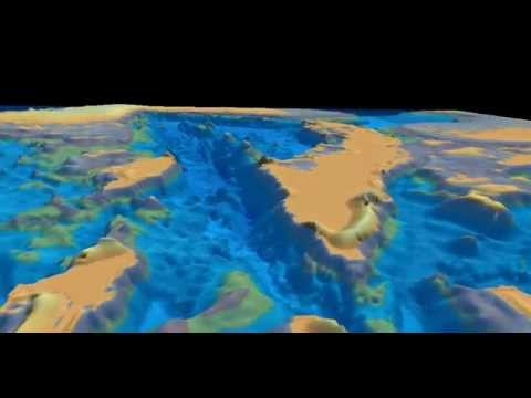 3D fly-thru Cayman Trough