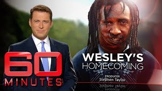 Wesley Koni 39 s story of survival from a horrific fire and return to PNG 60 Minutes Australia