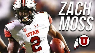 Most Underrated RB In the Pac-12   Official Zach Moss 2017 Utah Highlights