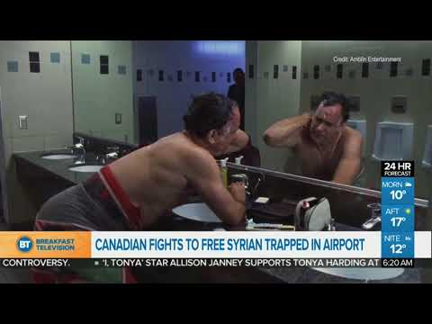 Canadian fights to free Syrian trapped in airport