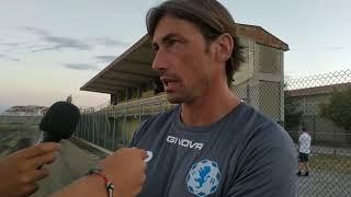 Fidelis, mister Panarelli al termine della prima amichevole pre-campionato