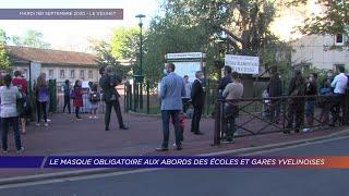 Yvelines | Le masque obligatoire aux abords des écoles et gares yvelinoises