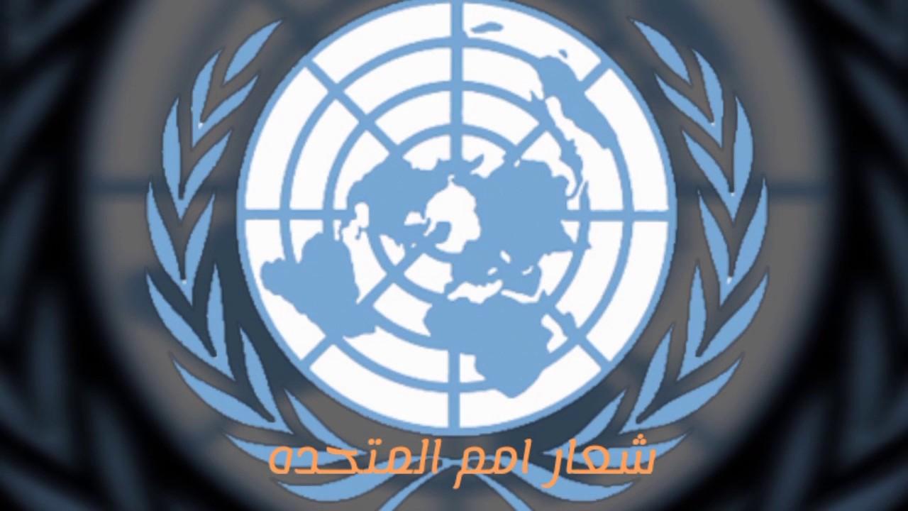 خريطة الأرض المسطحة في شعارات منظمات الدولية التابعة للأمم المتحدة