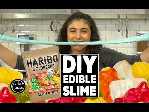 How to make DIY EDIBLE SLIME with Sofia Valastro