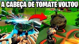 Fortnite - A CABEÇA DE TOMATE VOLTOU, MAS DE UMA FORMA ESTRANHA