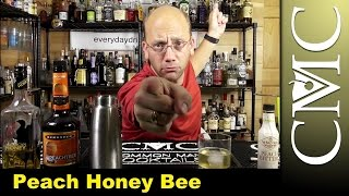 Peach Honey Bee with Wild Turkey American Honey